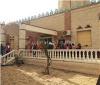 صور  استعدادات «مسجد الروضة» للافتتاح الجزئي وإقامة صلاة الجمعة
