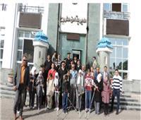 طلاب المدارس يقومون بزيارة مديريات الأمن ضمن مبادرة «كلنا واحد»