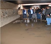 محافظ الغربية يتفقد الطرق الرئيسية بعد هطول الأمطار