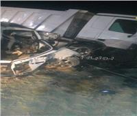 مصرع وإصابة 5 أشخاص في حادث تصادم بطريق أسوان القاهرة