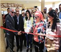 وزيرة البيئة تتفقد المرحلة الأولى لأعمال تطوير محمية رأس محمد