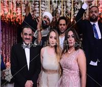 صور| متقال وعدوية يحيان زفاف «أحمد وإنجي»