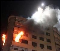 السيطرة على حريق في مخزن «فايبر» و4 شقق سكنية بالسلام