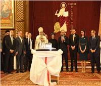 هدية تذكارية لقداسة البابا بمناسبة تدشين الكاتدرائية
