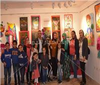 «أحلام الطفولة».. معرض فني بثقافة الإسكندرية في الأنفوشي