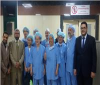 مستشفى الأزهر تستضيف فريقًا كوريا لإجراء عمليات جراحية لـ ٣٠ مريضًا