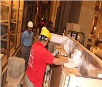«المتحف الكبير» يستقبل 240 قطعة أثرية ويختتم المشروع المصري الياباني