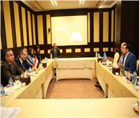 «طلعت» يلتقي وفد الأمم المتحدة للاتصالات وتكنولوجيا المعلومات