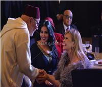 صور| يسرا وسمية الخشاب في احتفالية السفارة المغربية بـ«يوم الطبخ والقفطان»