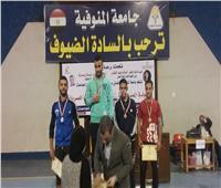 الإسكندرية الأولى في المصارعة الحرة على مستوى الجامعات