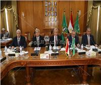 «عباس» يشهد اجتماع مجلس جامعة المنوفية