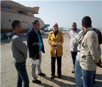 حملة تفتيشية موسعة بمحيط قلعة قايتباي والمنطقة السياحية