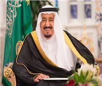 خادم الحرمين يستعرض مع الزياني مسيرة العمل الخليجي المشترك