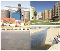 مشروعات عملاقة ومدن وطرق ومحاور جديدة.. التنمية وصلت الصعيد «الجواني»