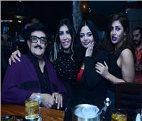 صور| سمير غانم وليلى غفران يحتفلان بعيد ميلاد زوجة ماجد الصافي