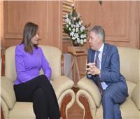 وزيرة الهجرة تستقبل السفير الكندي لبحث التعاون بشأن الجاليات