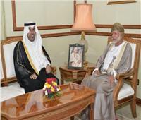 رئيس البرلمان العربي يبحث مستجدات الأوضاع فى المنطقة مع وزير خارجية عمان
