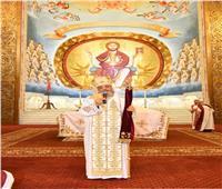 البابا تواضروس يلقي عظته الأسبوعية في الكاتدرائية