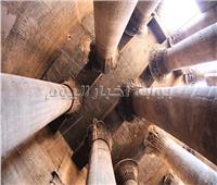بدء أعمال ترميم وتطوير «معبد إسنا» بالأقصر| صور
