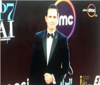 صور| ظافر العابدين يصل حفل ختام مهرجان القاهرة السينمائي الدولي