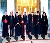 رئيس الوزراء العراقي يستقبل بطاركة الشرق الكاثوليك في مقر إقامته