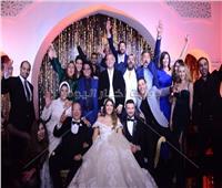 صور| نجوم الفن في حفل زفاف ابنة صلاح عبد الله