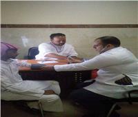 توقيع الكشف الطبي على 14121 حالة بمستشفى طور سيناء