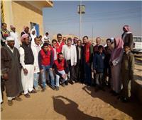 وكيل صحة جنوب سيناء يزور أهالي مدينة أبوزنيمة