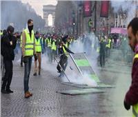 فرنسا.. اعتقال 100 شخص خلال احتجاجات «السترات الصفراء»