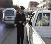 ضبط 4700 مخالفة متنوعة في حملة أمنية لمرور الجيزة