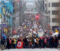 آلاف البلجيكيين يشاركون في مسيرة ضد ارتفاع درجة حرارة الأرض