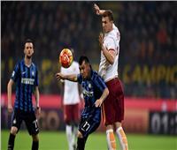 بث مباشر  مباراة روما وإنتر ميلان في قمة الكالتشيو