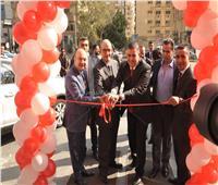 «توفيق محمد» تفتتح صالة عرض جديدة لسيارات MG بالمعادي