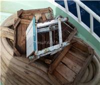 غرق مركب صيد بخليج السويس وعلى متنها 13 بحاراً
