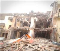 محافظ الجيزة يتابع أعمال الإزالات للأبنية المخالفة في حي شمال
