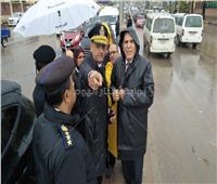 محافظ الإسكندرية يوجه بمتابعة أعمال تصريف مياه الأمطار