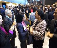 على هامش «تغير المناخ».. وزيرة البيئة تشارك في احتفالية إفريقيا