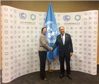 الأمين العام للأمم المتحدة يلتقي وزيرة البيئة ويبحثان قضية تغير المناخ ودور مصر المحوري بيئيا