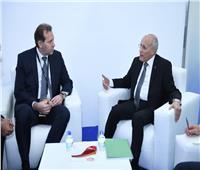 «العصار» يستقبل ألكسند بوتابوف لبحث التعاون مع الشركات الروسية