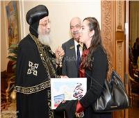 صور| البابا تواضروس ضيف أندية الروتاري المصرية
