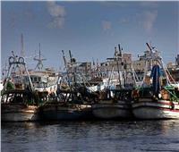 توقف حركة الصيد في عزبة البرج بدمياط بسبب سوء حالة الطقس