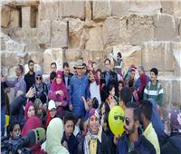 مكتبة الإسكندرية تنظم يومًا لذوي الاحتياجات الخاصة بالأهرامات
