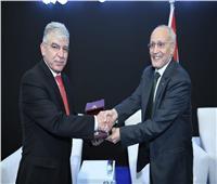 «العصار» يستقبل مدير عام مركز الملك عبد الله الثاني للتصميم والتطوير الأردني