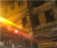 صور  انهيار عقار بالإسكندرية.. والبحث عن مفقودين تحت الأنقاض