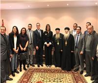 وزيرة الهجرة تلتقي الجالية المصرية في الأردن