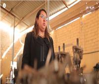 مارينا حصلت على قرض 2 مليون جنيه من المشروعات الصغيرة.. شاهد تجربتها