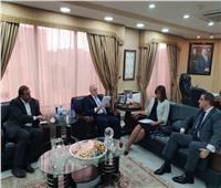 وزيرة الهجرة تلتقي وزير العمل الأردني لبحث أوضاع العمالة المصرية