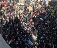 فلسطينيون يتظاهرون في غزة قبل تصويت للأمم المتحدة بشأن حماس