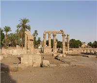 معبد «مونتو».. إله الحرب عند القدماء| صور