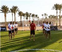 منتخب الشاطئية يختتم استعداداته لمواجهة المغرب بأمم أفريقيا
